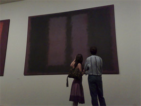 couple at artshow