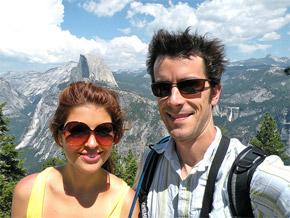 couple hiking