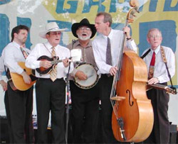 Bluegrass performers